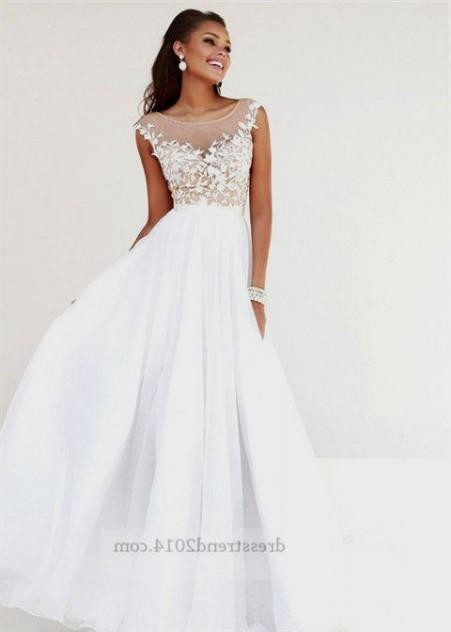 long white formal dresses for juniors 2016-2017 » B2B Fashion