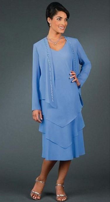 Mother Of The Bride Dresses Tea Length Plus Size Looks