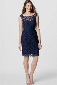 navy blue bridesmaid dresses with lace 2016-2017 | B2B Fashion