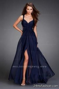 navy blue formal dresses for juniors 2016