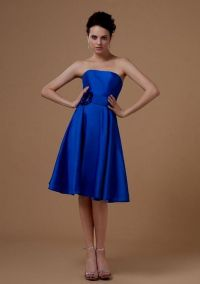 navy blue knee length bridesmaid dresses 2016-2017 | B2B ...