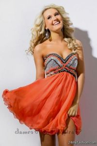 orange short prom dresses 2016-2017 | B2B Fashion