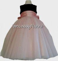 pink and black flower girl dresses 2016-2017 | B2B Fashion