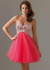 pink short prom dresses tumblr 2016-2017 | B2B Fashion