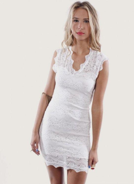 plus size cream lace dress 2016-2017 » B2B Fashion