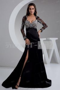 Plus Size Prom Dresses Black And White