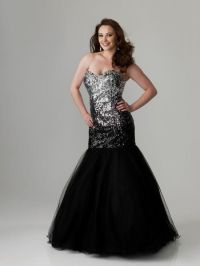 plus size silver prom dresses 2016-2017 | B2B Fashion
