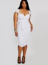 plus size white party dress with sleeves 2016-2017 | B2B ...