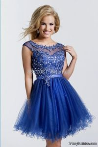 prom dresses short blue 2016-2017 | B2B Fashion