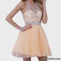 prom dresses short peach 2016-2017 | B2B Fashion