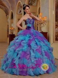 purple and blue and pink quinceanera dresses 2016-2017 ...