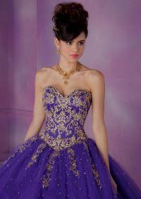 purple and gold sweet 16 dresses 2016-2017 | B2B Fashion