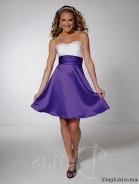 purple and white dama dresses 2016-2017 | B2B Fashion