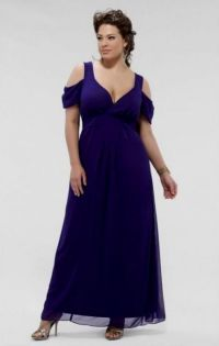 purple bridesmaid dresses plus size 2016