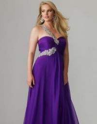 purple bridesmaid dresses plus size 2016-2017 | B2B Fashion