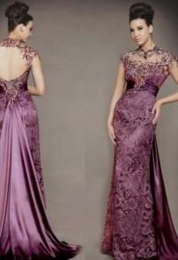 purple lace bridesmaid dress 2016-2017 | B2B Fashion