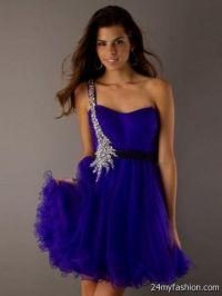 purple semi formal dresses 2016-2017   B2B Fashion