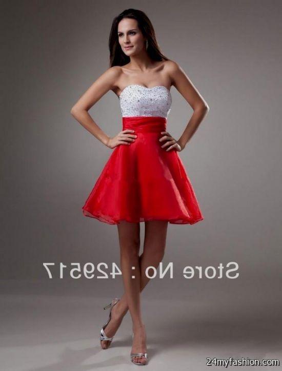 red semi formal dresses juniors 2016-2017 » B2B Fashion