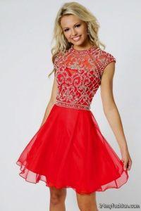 red short prom dresses 2016-2017 | B2B Fashion