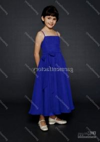 royal blue dress for kids 2016