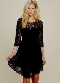 short black lace bridesmaid dresses 2016-2017 | B2B Fashion