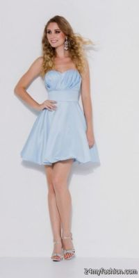 short light blue bridesmaid dresses 2016-2017 | B2B Fashion