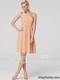 short light pink bridesmaid dress 2016-2017 | B2B Fashion