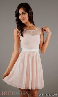 Light Pink Bridesmaid Dresses Short - Wedding Dresses Asian