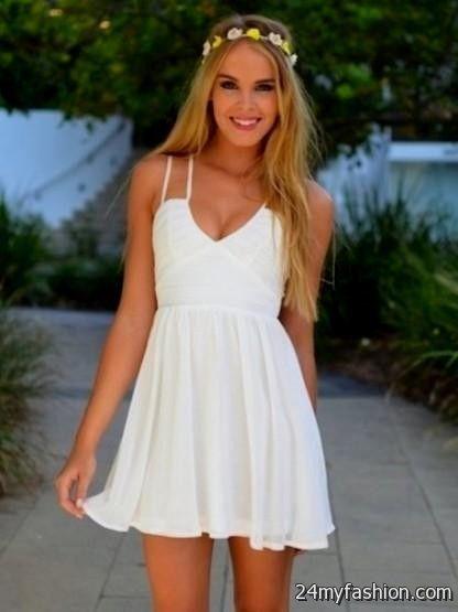 short white sundress looks  B2B Fashion