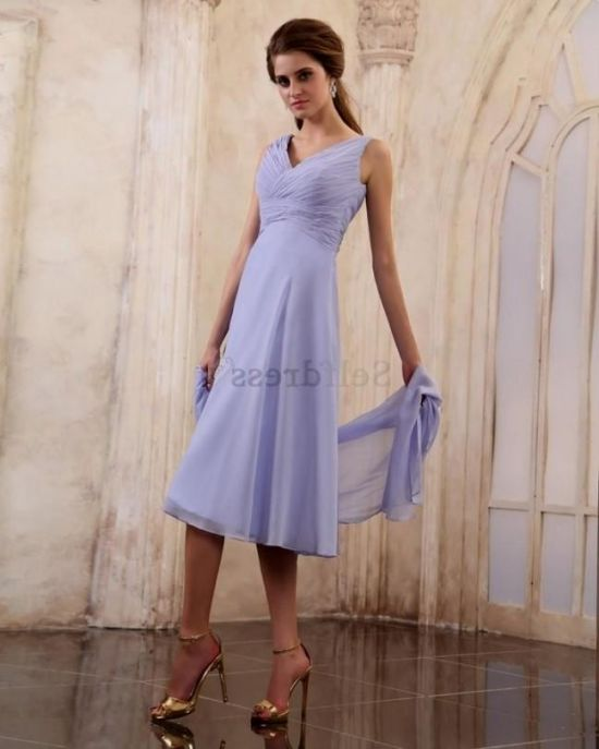 Summer mother of the bride dresses tea length 2017