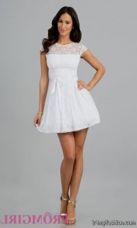 white high school graduation dresses 2016-2017 | B2B Fashion