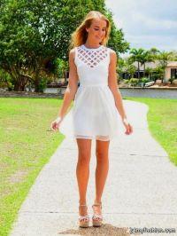 Graduation Dresses For High School White - Eligent Prom ...
