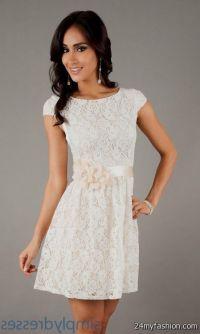 white semi formal dresses 2016-2017   B2B Fashion