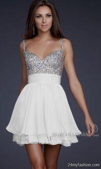 white short formal dresses for juniors 2016-2017 | B2B Fashion