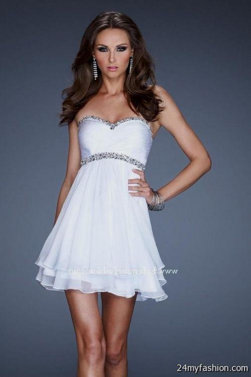 white short prom dresses 2014 2016-2017 » B2B Fashion