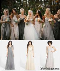 Fall wedding bridesmaid dresses 2017-2018 | B2B Fashion