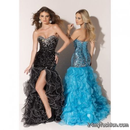 Lace up prom dresses 2017-2018 » B2B Fashion