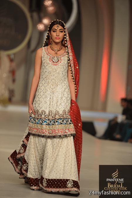 Pakistani designer bridal dresses 20172018  B2B Fashion