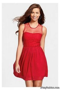 Red dresses for juniors 2017-2018 | B2B Fashion