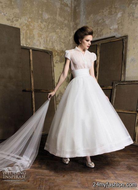 Retro wedding dresses 20172018  B2B Fashion