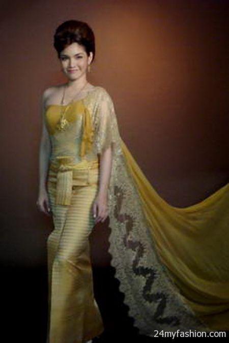 Thai wedding dresses 20172018  B2B Fashion