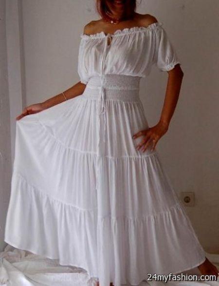 Peasant Style Wedding Dresses