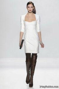 Winter white dresses 2017-2018 | B2B Fashion