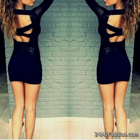 short tight black dress tumblr 2017-2018 » B2B Fashion