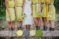 Gray And Yellow Bridesmaid Dresses | www.pixshark.com ...