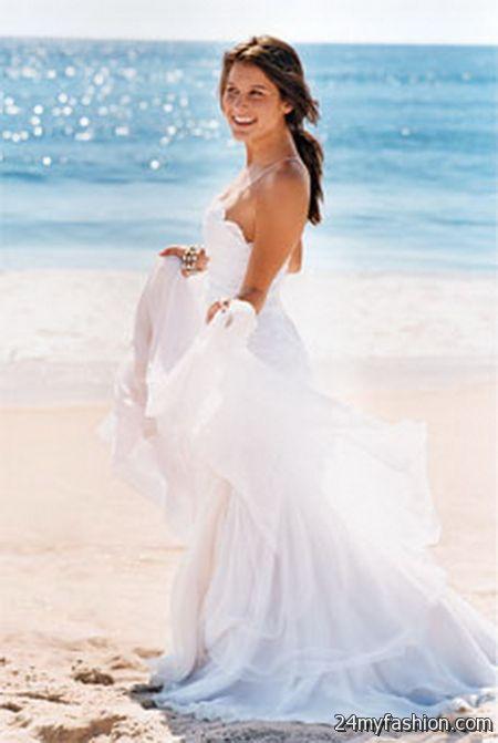 Cotton beach wedding dresses 20182019  B2B Fashion