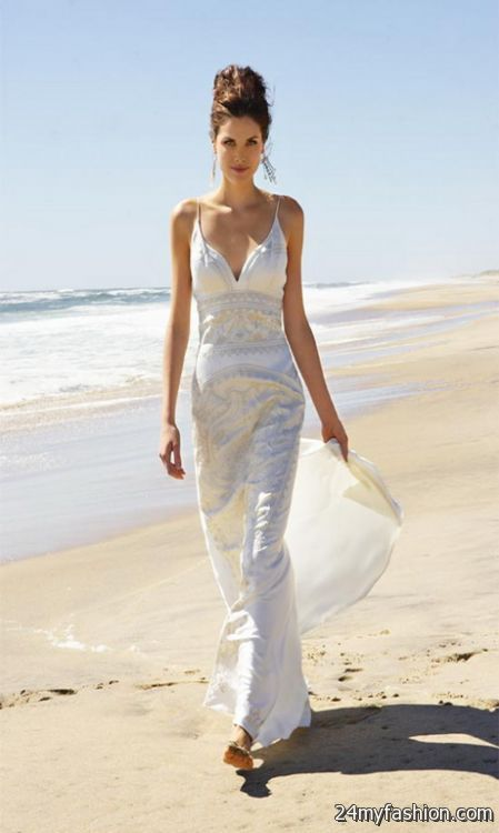 Unique beach wedding dresses 20182019  B2B Fashion
