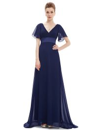 Cool Ever-Pretty Navy Blue Evening Weddings Bridesmaid ...
