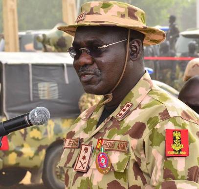 'Army did not declare IPOB terrorist organisation' - Chief of Army staff, Tukur Buratai, says