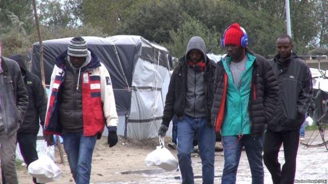 Flygtninge. Arkivbillede.